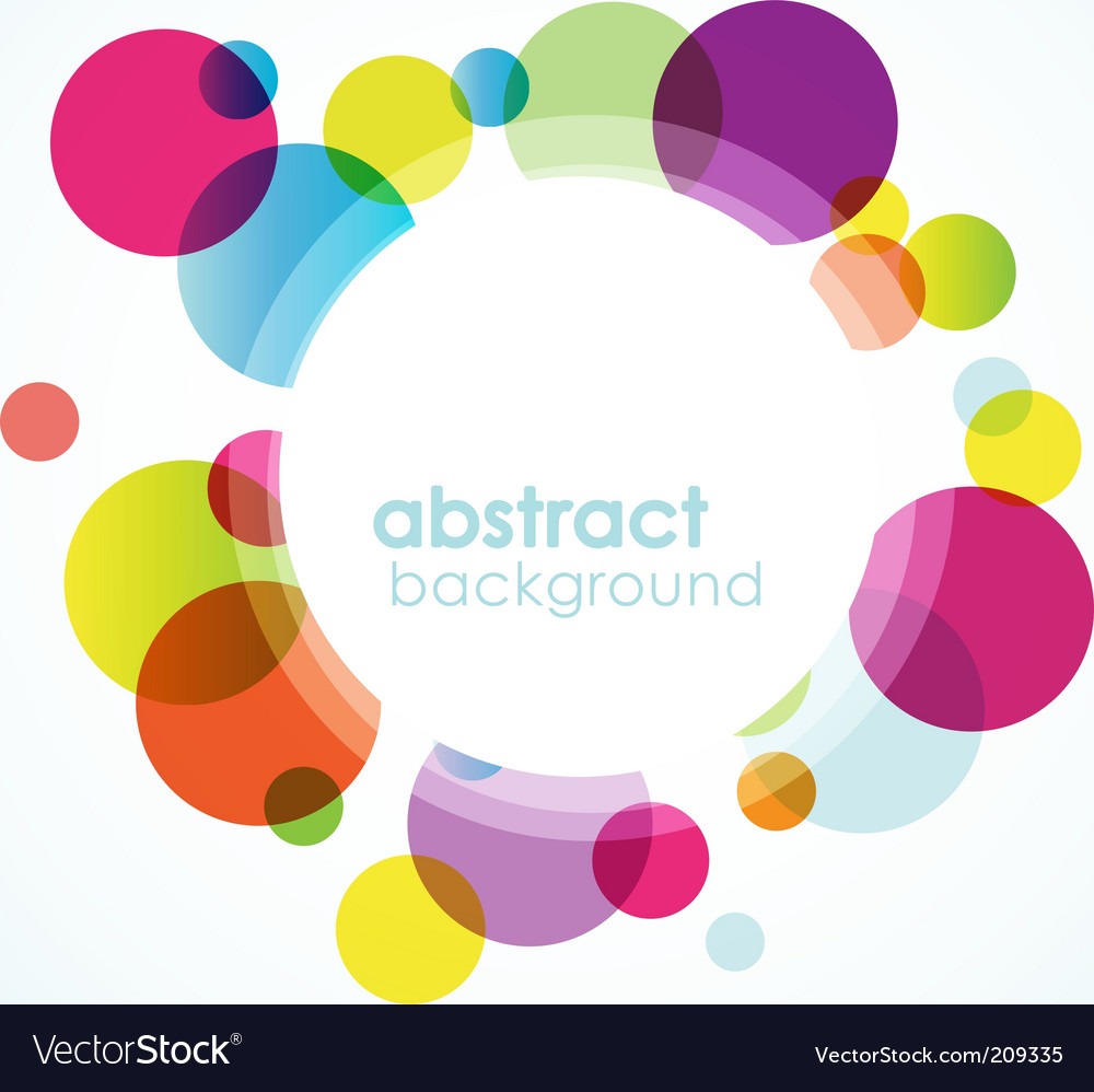 Abstract colored background vector