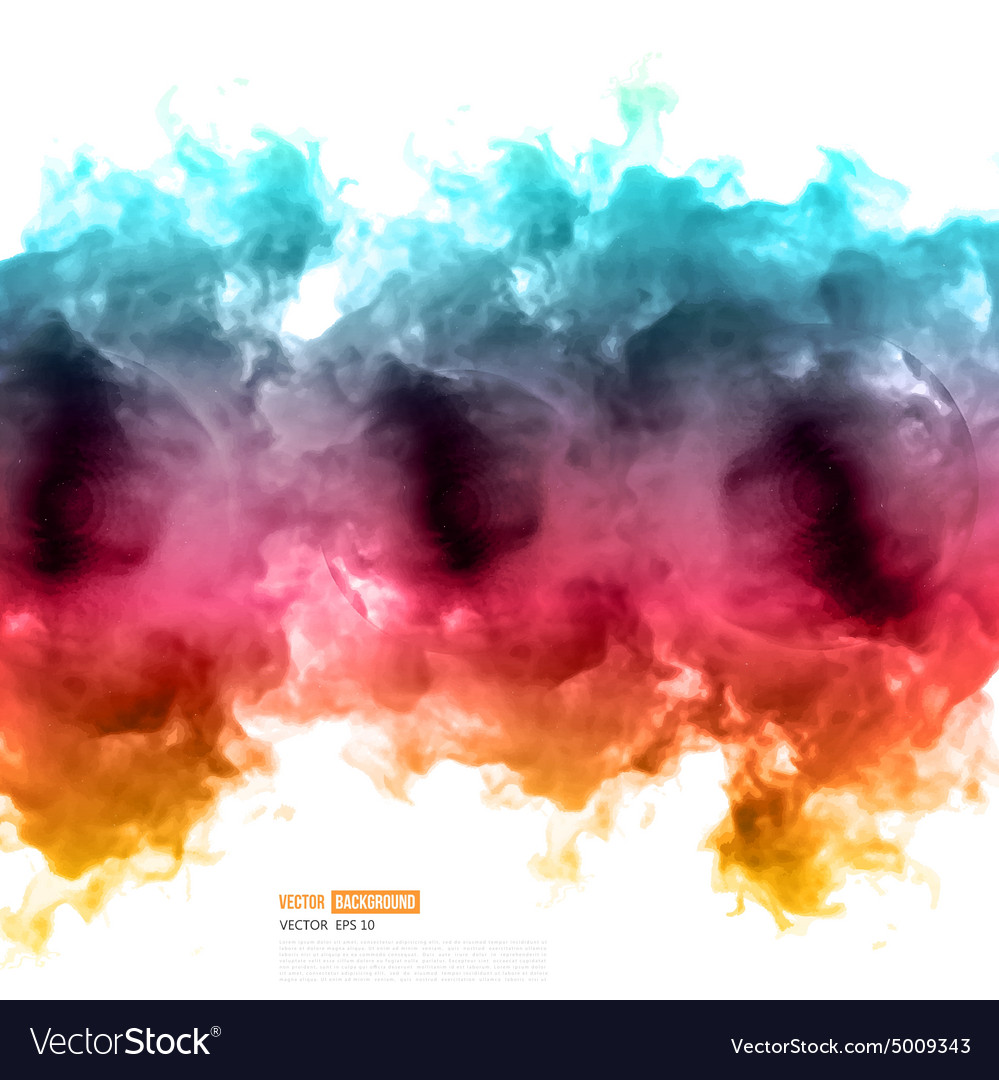 Color cloud vector