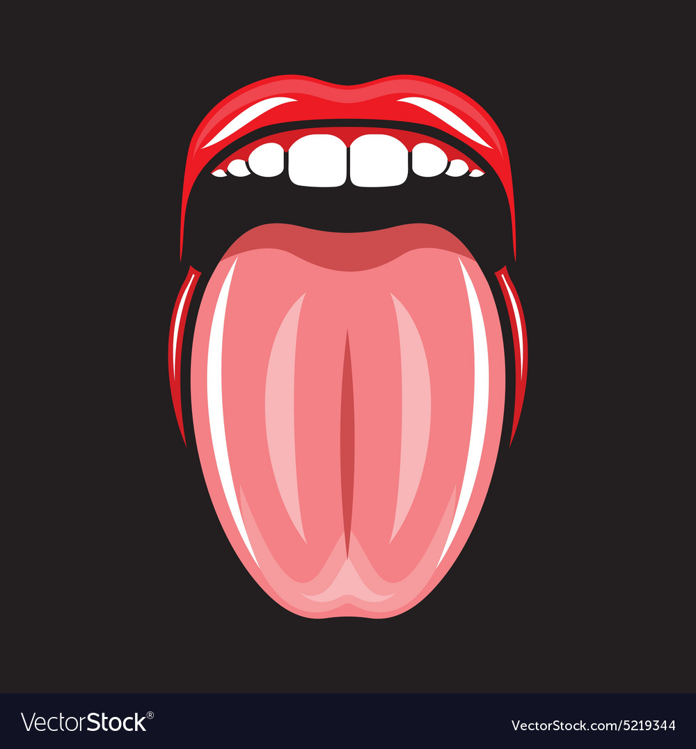 Pop art lips6 resize vector