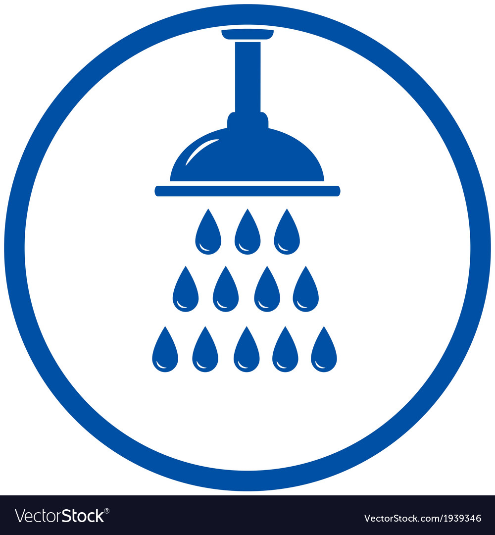 Shower head vector