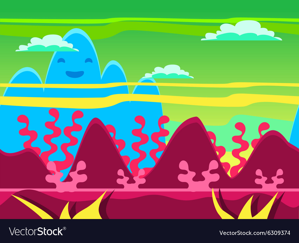 Game background set vector