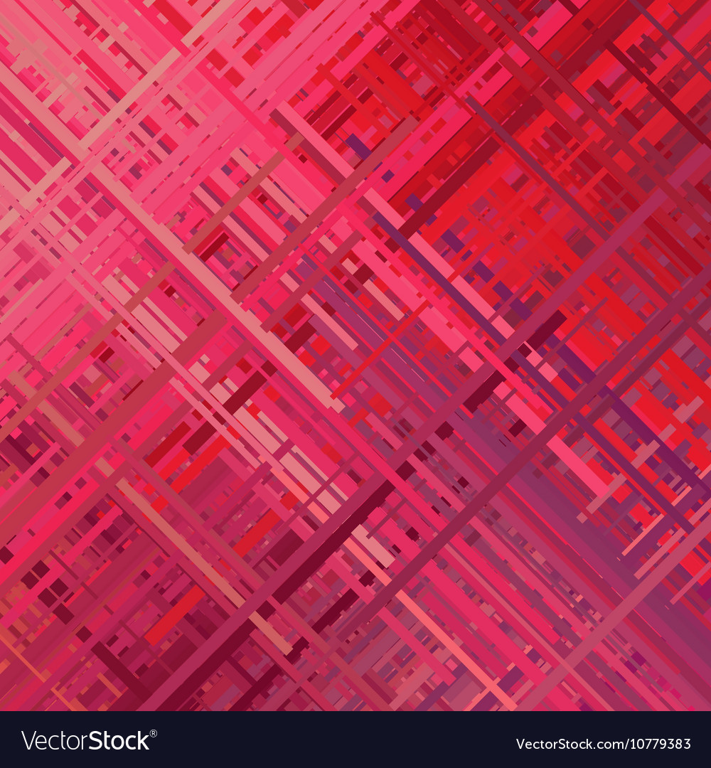 Red glitch background vector