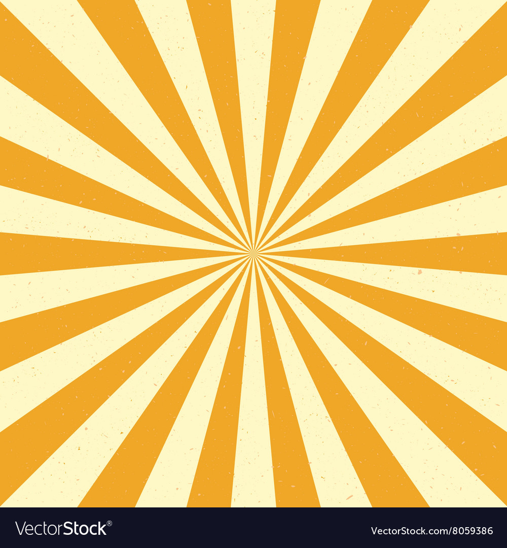 Burst background  yellow vector