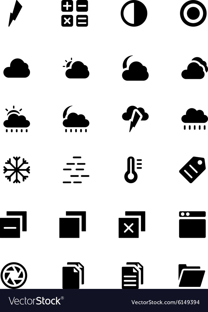Universal web and mobile icons 5 vector