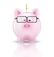 piggy bank01 vector image