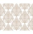 Wallpaper baroque seamless pattern vector image