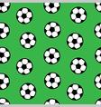 Football seamless pattern vector image