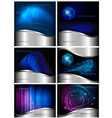 abstract and business backgrounds vector image vector image