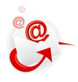 Symbol email and envelope vector image