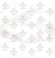 Fleur-de-lys seamless background on grange paper vector image vector image
