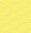 Sketch honey cells in vintage style vector image