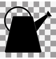 The watering can icon vector image