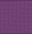 violet seamless atomic flower pattern with vector image