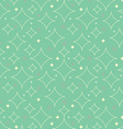 1950s Stars Pattern Background vector image vector image