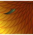 abstract background of orange scales with color vector image