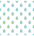 green leaves inside water drop pattern vector image