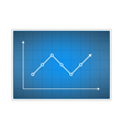 Chart vector image vector image