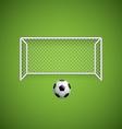 Soccer ball1 vector image