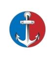 anchor emblem vector image