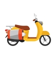 Scooter isolated Delivery transport icon vector image