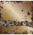 gear mechanism vector image