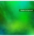 Green watercolor texture vector image