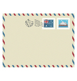 australia airmail vector image vector image