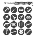 Homemade construction and renovation icons vector image