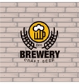 Brewery Logo vector image