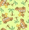 On safari vector image