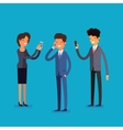 Business concept Cartoon people vector image