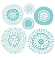 Decorative Set vector image vector image