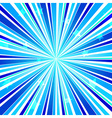 Abstract Star Burst Ray Background Blue vector image