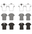 Polo t-shirts vector image