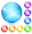 Opaque spheres vector image