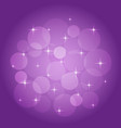 abstract background with bokeh lilac vector image