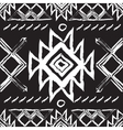 Tribal ethnic seamless patternnational vector image