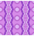 lilac geometry pattern vector image vector image