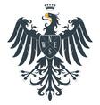 Heraldic eagle12 vector image vector image