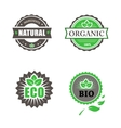Eco And Bio Labels Collection vector image