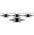 Razor wire vector image vector image