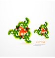 creative leaves vector image vector image