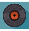 long play isolated icon design vector image