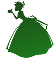 princess and the frog vector image