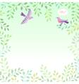 sing bird vector image