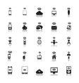 Hotspot Icons Wireless vector image vector image