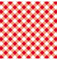 pattern seamless gingham tablecloth vector image