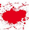 drop ink splatter vector image