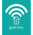smart house design vector image