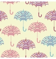 cute umbrellas vector image